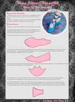 Shoe Cover Tutorial Part I by Xelhestiel