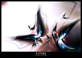 Flying by Kiug