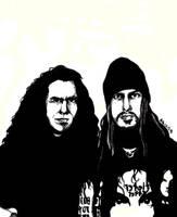 Tom Araya and Phil Anselmo by Dragon-963