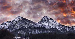Aibga Peaks by Trashins