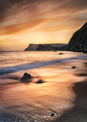Golden Sunset by Trashins