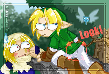 Zelda - Fairy WRONGNESS by dizziness