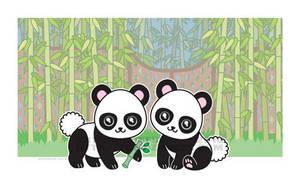 half pint - Pandas by dizziness