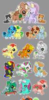 Pudgy Pony - Extravaganza 02 by dizziness