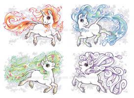 Elemental Spirits by dizziness