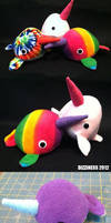 Fat Narwhals - GO! by dizziness