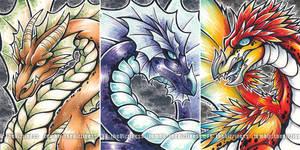 Dragons - by dizziness