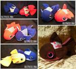 Goldfish plushies part 01 by dizziness