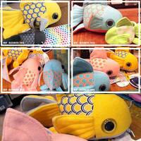 Goldfish plushies part 02 by dizziness