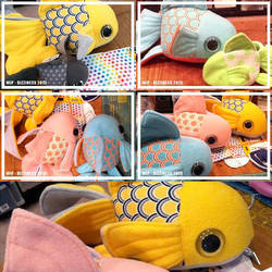 Goldfish plushies part 02 by dizziness
