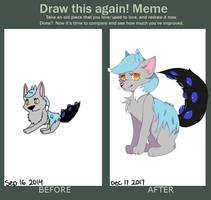 Draw This Again! Meme (3 years) by Mambezi