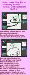 Tutorial for Line Art in Medibang Paint Part 3 by crochetamommy