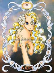 Zodiac MLP: Pony Aries by WhiteNenufar