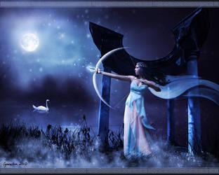 Artemis by Cynnalia