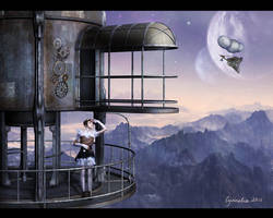 The Worlds Beyond by Cynnalia
