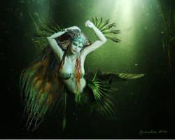 Emerald Sea by Cynnalia