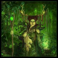 Deep Forest Magic by Cynnalia