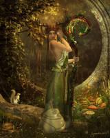 Druidess by Cynnalia