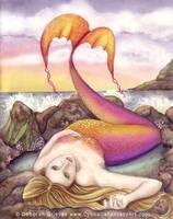 Low Tide by Cynnalia