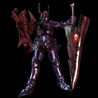 Nightmare and SoulEdge from Soul Calibur 2 by wadamen