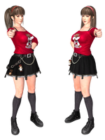 Hitomi New Costume from DOA5LR XPS by wadamen
