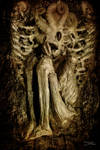 Fallen angel waiting by AlejandroDMarco