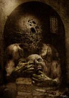 The Flesh Mask by AlejandroDMarco