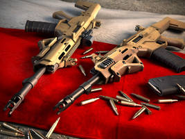 Patriotic MSBS 5.56 by shorty91
