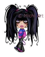 Little Emo 4-DA by MichiArts