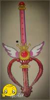 Sailor Moon - Scepter Season 4 Perler by Awi87