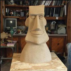 Easter Island Head by RandyHand