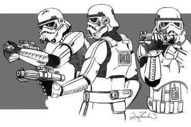 Stormtroopers by Zamundiqua