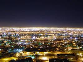 El Paso.. night time. by SeanDunbar