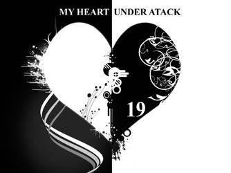BW Heart by Meditation1234