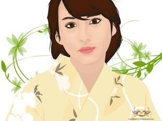Maki Horikita1.0 by Meditation1234