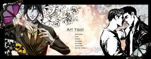 Art Yaoi - Banniere by Aelheann