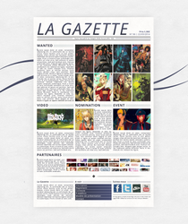 Maquette Gazette by Aelheann