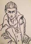 Vinzent portrait by Aelheann