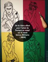 Ex libris Sevices Militaires by Aelheann