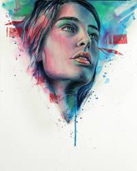Kozmic Blues II by AlfieAlphA