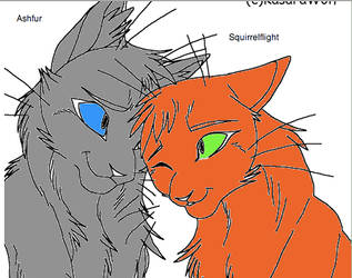 AshfurxSquirrelflight by WarriorCatLuver123