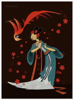 Chinese Goddess by Aisidedpipol