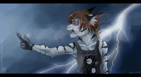 Angry Ran by SHAKUMl