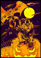 Poster Halloween 2014 by yuski