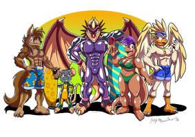 Brasil FurFest Promo Art by yuski