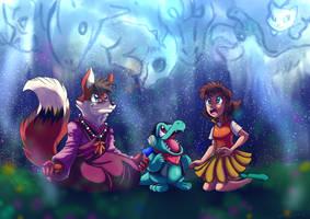 Shiny Totodude Commission by yuski