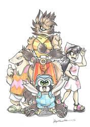The Lobo Loco Crew by yuski