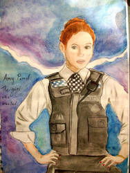 Amy Pond. The Girl Who Waited by Hatters-Workshop