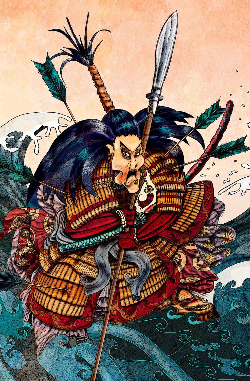 Samurai Battle by skidone