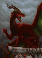 Dragon of autumn by Ruchiel